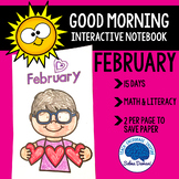 Morning Work - Interactive Notebook February (15 days)