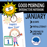 Morning Work - Interactive Notebook January (20 days)