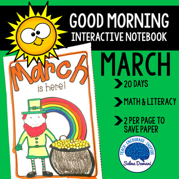 Morning Work - Interactive Notebook March (20 days)