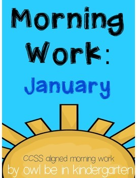 Morning Work: January