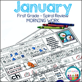 Morning Work - January Grade 1