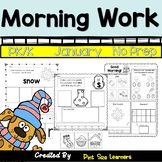 Morning Work January PK and K