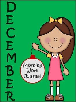 Morning Work Journal:  December