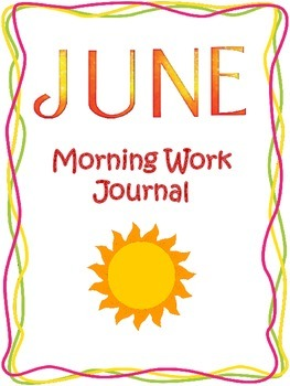 Morning Work Journal: June