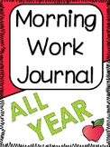 Morning Work Journal for Grades 3-5