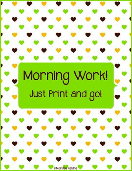 Morning Work - Just Go!