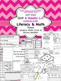 Morning Work - Wonders Unit 6 Weeks 1-3 kinder (literacy a