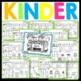 Kindergarten Morning Work -August