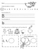 Morning Work Kindergarten FREEBIE!!!! Letters, Phonics, and Math Com core 7 pg