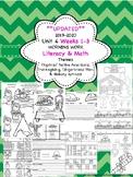 Morning Work - Wonders Unit 4 Weeks 1-3 kinder (literacy and math)
