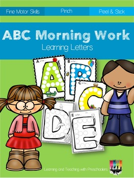 Morning Work Learning Letters