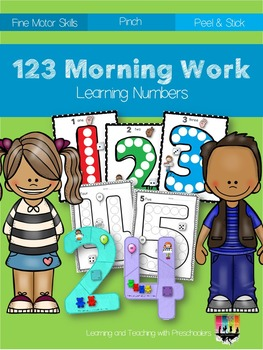 Morning Work Learning Numbers