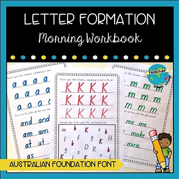 Morning Work: Letter Formation / Handwriting Package