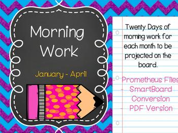 Morning Work MEGA BUNDLE {{September-April}}
