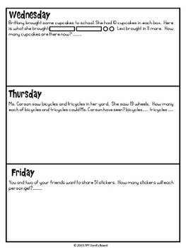 3rd Grade Morning Work - 1st 12 Weeks