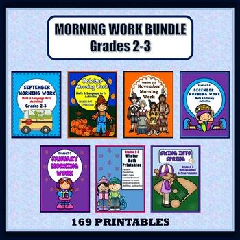 Morning Work Bundle, Grades 2-3