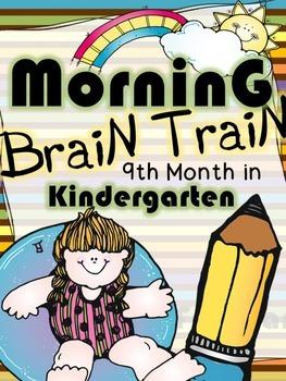 Morning Work - Math & Literacy {Morning Brain Train 9th Mo
