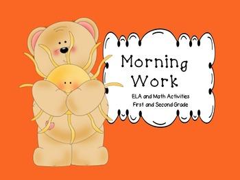 Morning Work Math and ELA : Print and Go