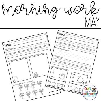Morning Work: May