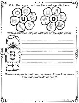 May NO PREP Kindergarten Morning Work