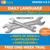 Morning Work - Daily Language Practice FREEBIE