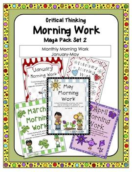 Morning Work Mega Pack 2