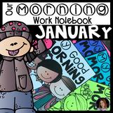 January Morning Work Notebook Unit 5 for Kindergarten