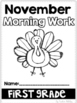 Morning Work-November 2