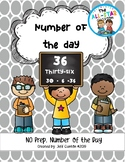 Morning Work: Number of the Day