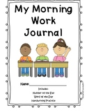 Morning Work: Number of the Day, Word of the Day FREEBIE
