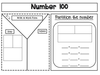 Morning Work Printables & Worksheets Numbers to 100