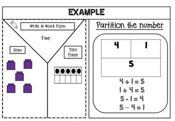 Morning Work Printables & Worksheets Numbers to  20