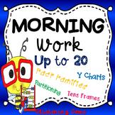 Morning Work Printables & Worksheets - Kindergarten Numbers to  20