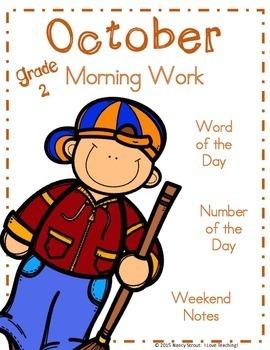 Morning Work October