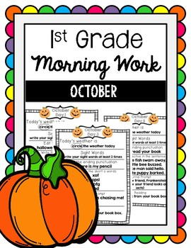 Morning Work October