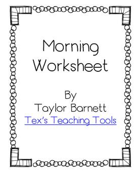 Morning Work Paper