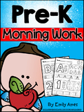 Morning Work:  Pre-K (130 pages)