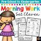 Morning Work: Preschool to Kindergarten - Set Eleven