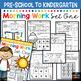 Morning Work: Preschool to Kindergarten - Set One