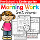 Morning BOOSTER Work: Preschool to Kindergarten - Set Two