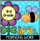 April 3rd Morning Work