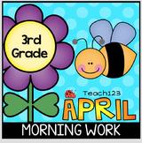 April 3rd Morning Work