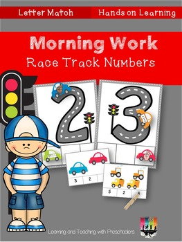 Morning Work Race Track Numbers