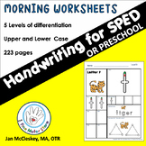 Special Education Handwriting Practice