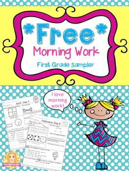 Morning Work Sampler- Free