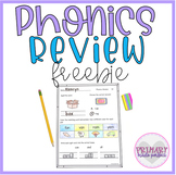 Morning Work Short Vowels Phonics Review Freebie