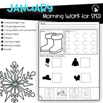 Morning Work Special Education Fine Motor