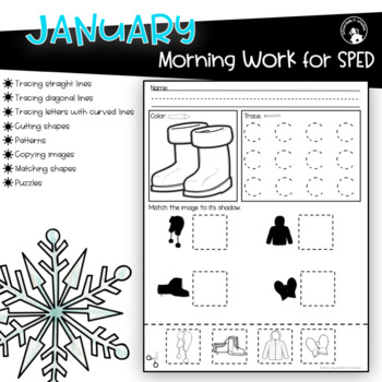Morning Work Special Education Fine Motor