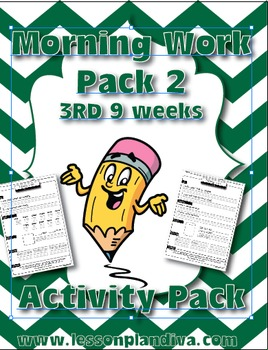 Morning Work /Spiral Review Pack 2