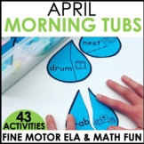 Morning Work Stations - April